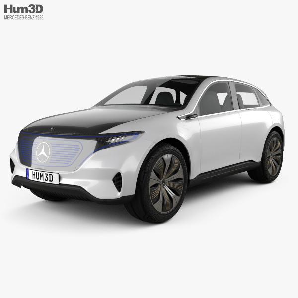 Mercedes-Benz EQ 2017 3D model