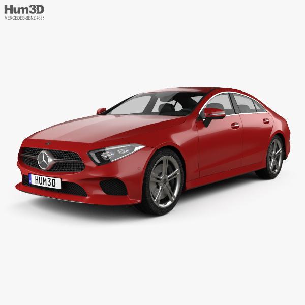 3D model of Mercedes-Benz CLS-class (C257) 2018
