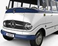 Mercedes-Benz O-319 Minibus 1955 3d model