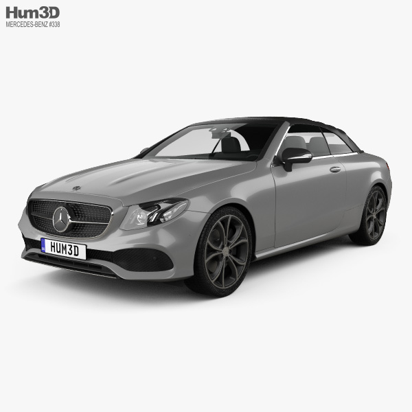 Mercedes-Benz E-class (A238) cabriolet 2016 3D model