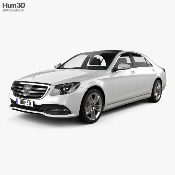 Mercedes-Benz S-class (V222) 2017 3D model