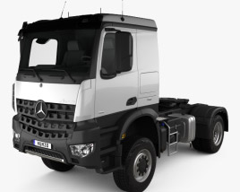 3D model of Mercedes-Benz Arocs Tractor Truck 2-axle 2013