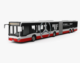 3D model of Mercedes-Benz CapaCity L 4-door Bus 2014
