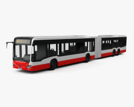 3D model of Mercedes-Benz CapaCity L 5-door Bus 2014