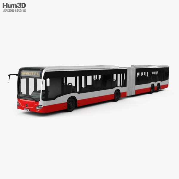 Mercedes-Benz CapaCity L 5-door Bus 2014 3D model