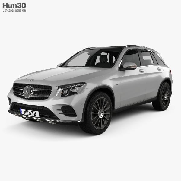 Mercedes-Benz GLC-class (X205) AMG Line with HQ interior 2015 3D model