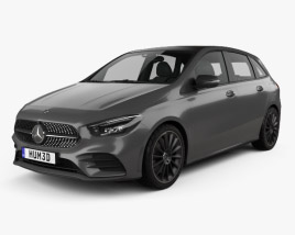3D model of Mercedes-Benz B-Class (W247) AMG Line 2019