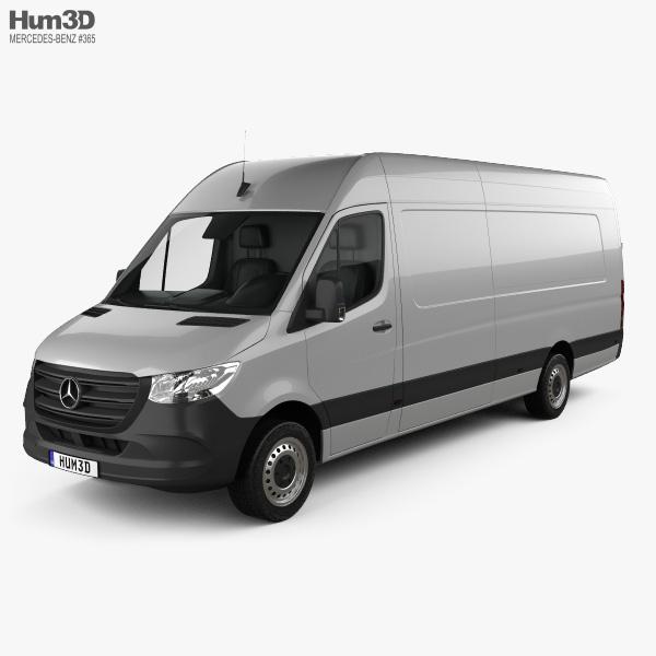 Mercedes-Benz Sprinter Panel Van L4H2 2019 3D model