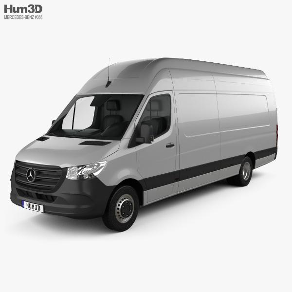 Mercedes-Benz Sprinter Panel Van L4H3 2019 3D model