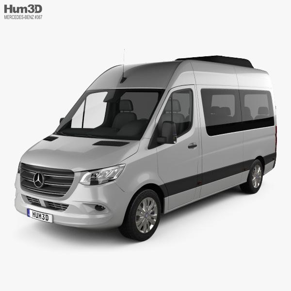 Mercedes-Benz Sprinter (W907) Passenger Van L2H2 2019 3D model