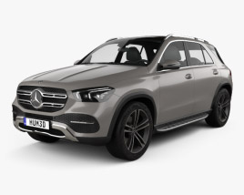 3D model of Mercedes-Benz GLE-class 2019