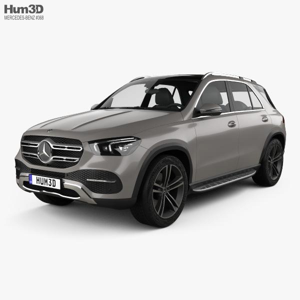 Mercedes-Benz GLE-class 2019 3D model