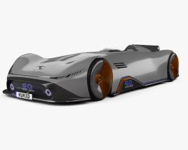 Mercedes-Benz Vision EQ Silver Arrow 2018 3D model
