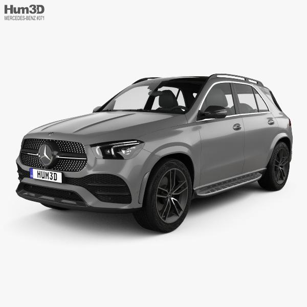 Mercedes-Benz GLE-class AMG Line 2019 3D model