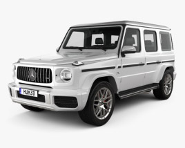 3D model of Mercedes-Benz G-class (W463) AMG 2019