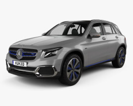 3D model of Mercedes-Benz GLC-class F-Cell 2019