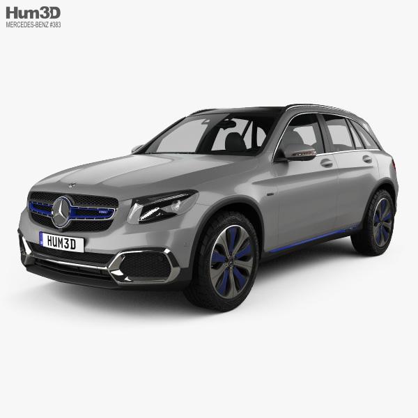 Mercedes-Benz GLC-class F-Cell 2019 3D model
