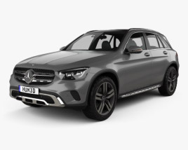 3D model of Mercedes-Benz GLC-class 2019