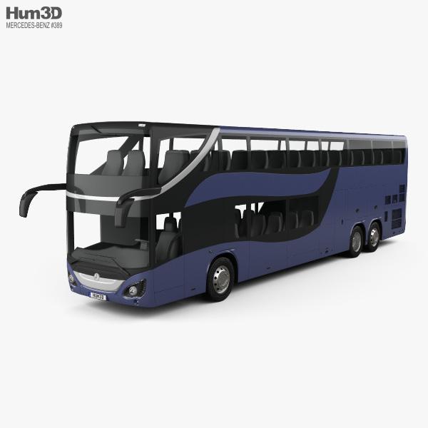 Mercedes-Benz MCV 800 Double-Decker Bus 2019 3D model