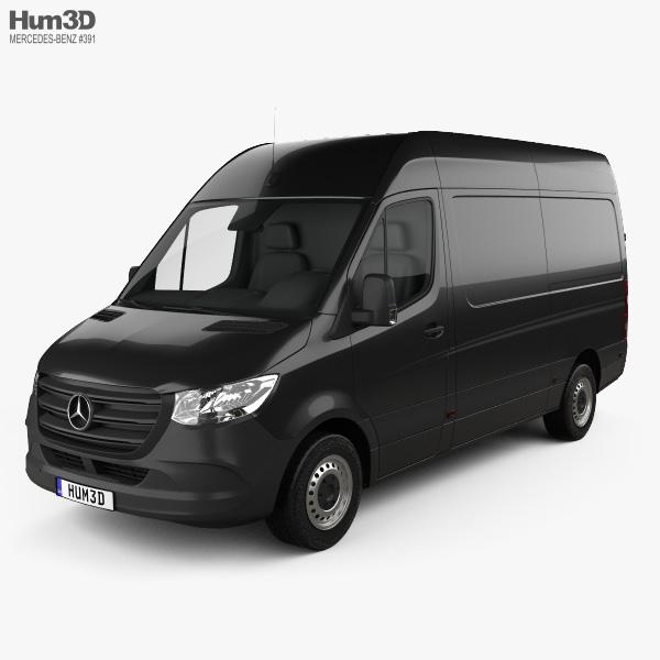 Mercedes-Benz Sprinter Panel Van L2H2 2019 3D model