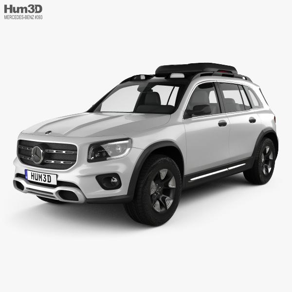 Mercedes-Benz GLB-class concept 2019 3D model