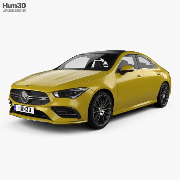 Mercedes-Benz CLA-class AMG 2019 3D model