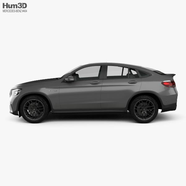 Mercedes-Benz GLC-class (C253) AMG coupe 2019 3D model