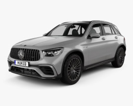 3D model of Mercedes-Benz GLC-class (X253) AMG 2019