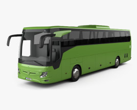 3D model of Mercedes-Benz Tourismo RHD Bus 2017