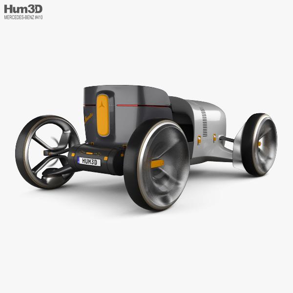 Mercedes-Benz Vision Simplex 2019 3D model