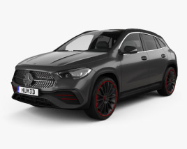 3D model of Mercedes-Benz GLA-class AMG-Line Edition 1 2020