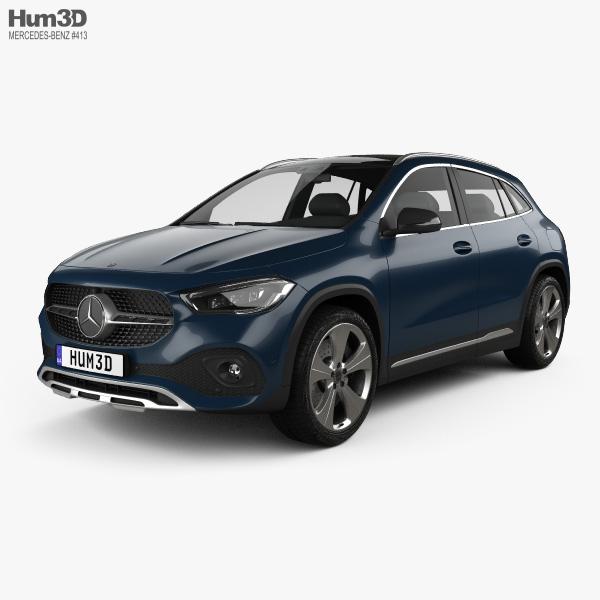 Mercedes-Benz GLA-class Progressive Line Edition 1 2020 3D model