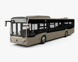 3D model of Mercedes-Benz Citaro 2 (O530) Turen Bus 2011