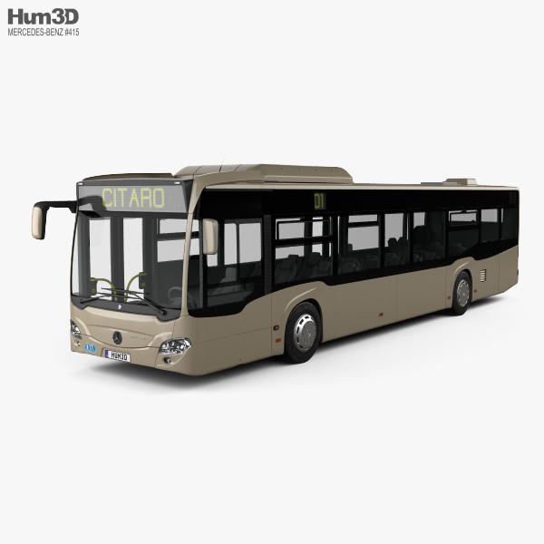 Mercedes-Benz Citaro 2 (O530) Turen Bus 2011 3D model