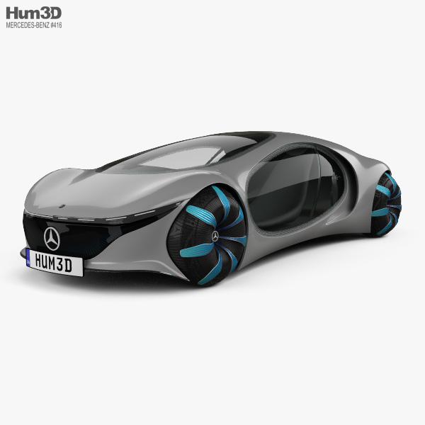 Mercedes-Benz Vision AVTR 2020 3D model