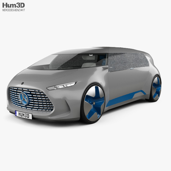 Mercedes-Benz Vision Tokyo with HQ interior 2015 3D model