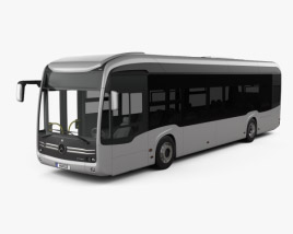 3D model of Mercedes-Benz eCitaro Bus 2018