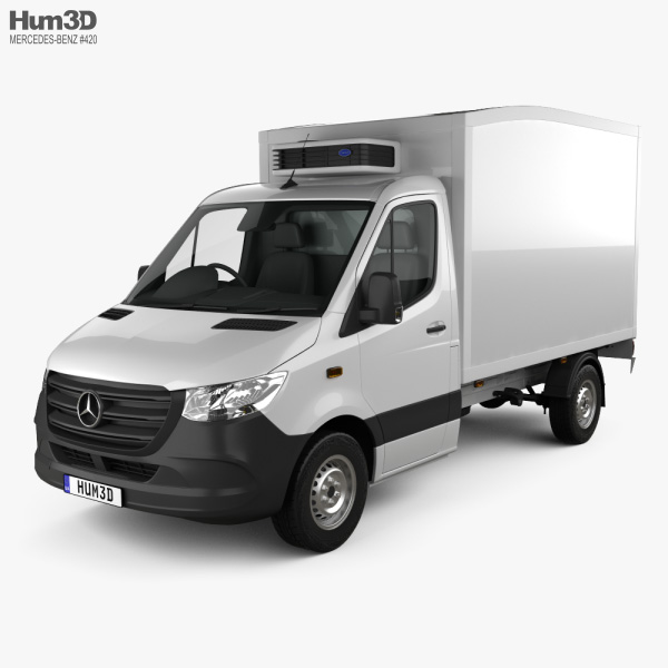 Mercedes-Benz Sprinter Delivery Van 2019 3D model