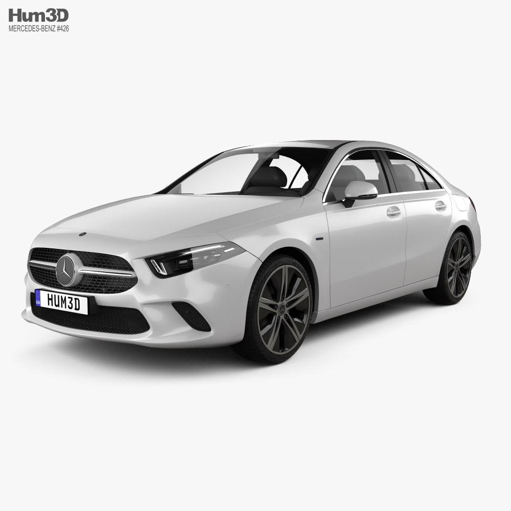 Mercedes-Benz A-class e sedan 2018 3D model