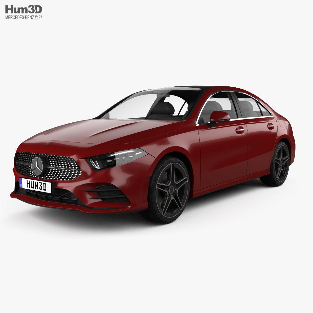 Mercedes-Benz A-class L Sport CN-spec sedan 2018 3D model