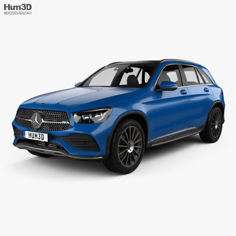 Mercedes-Benz GLC-class L 2019 3D model