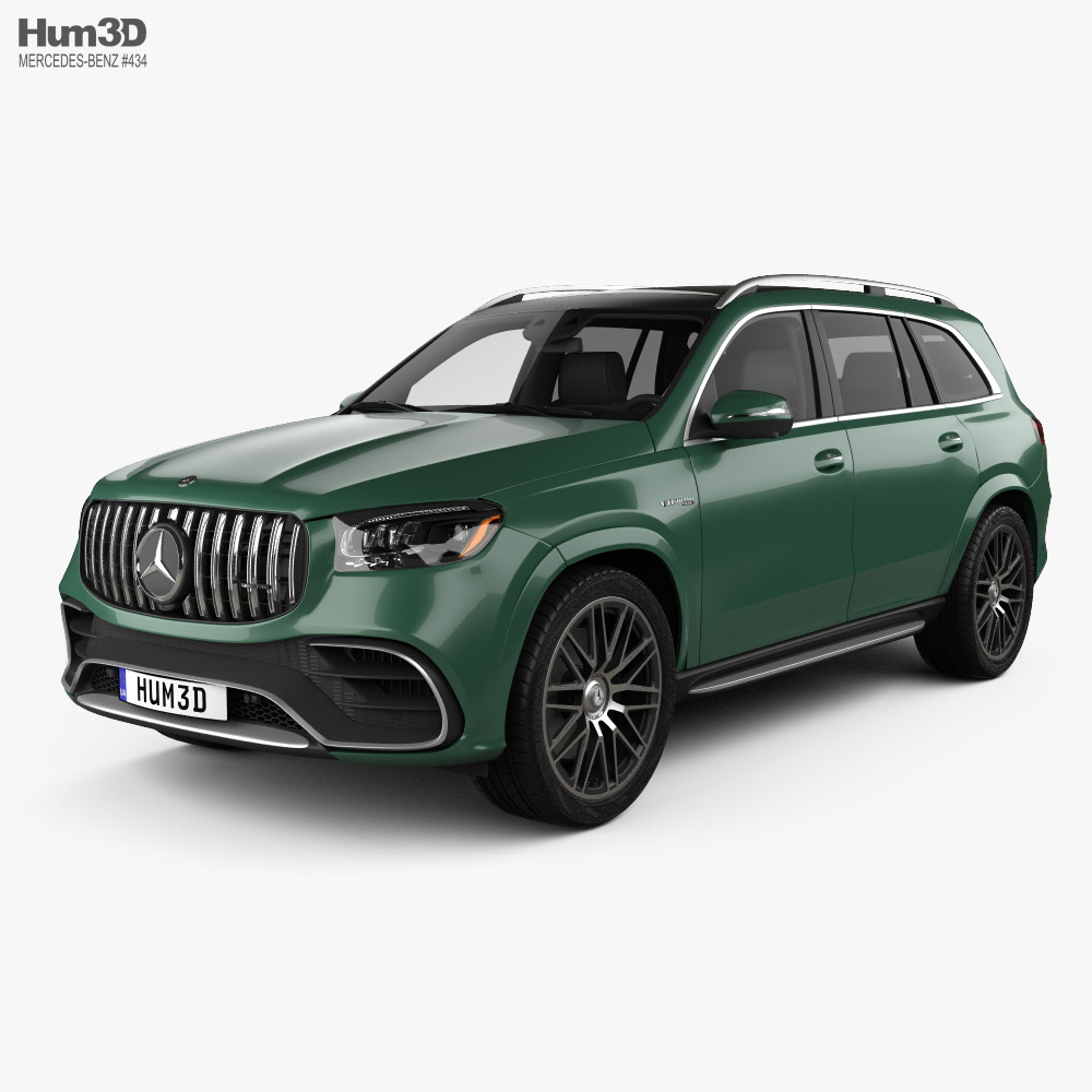 Mercedes-Benz GLS-class AMG US-spec 2021 3D model