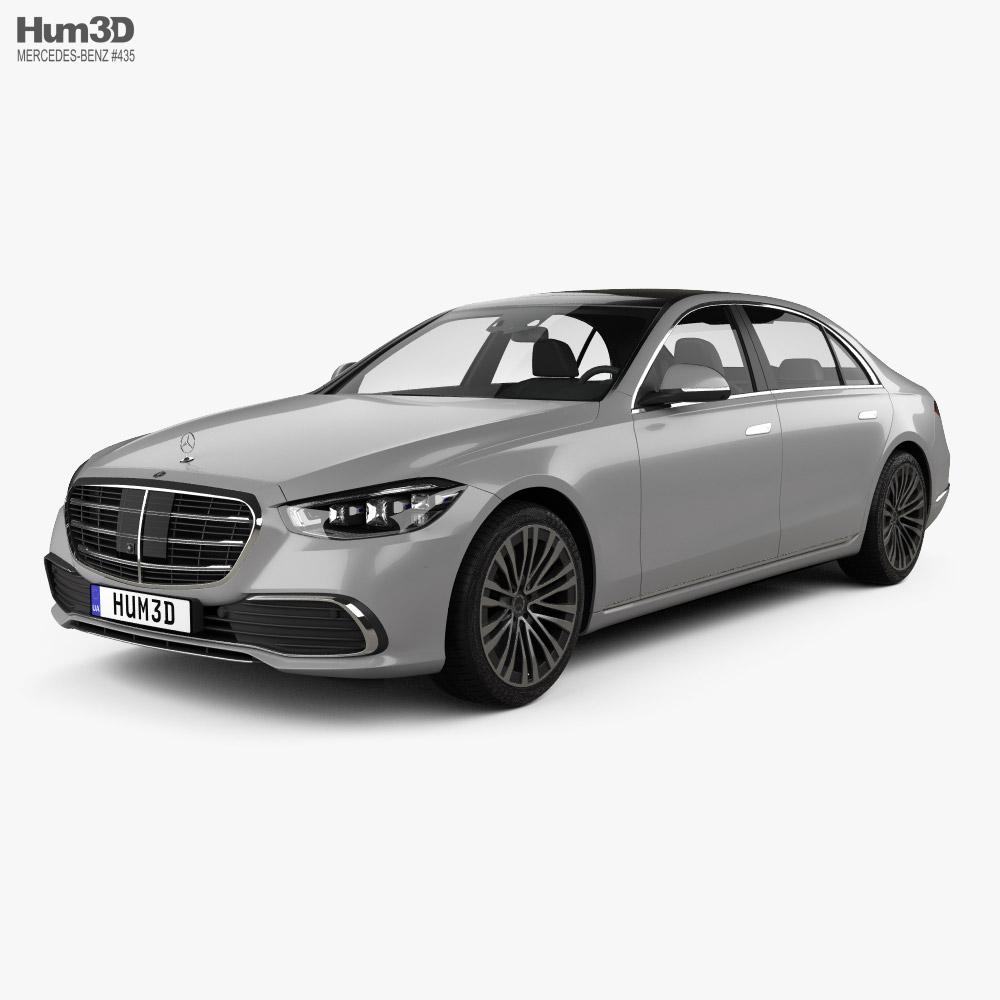 Mercedes-Benz S-Class (V223) LWB  2021 3D model