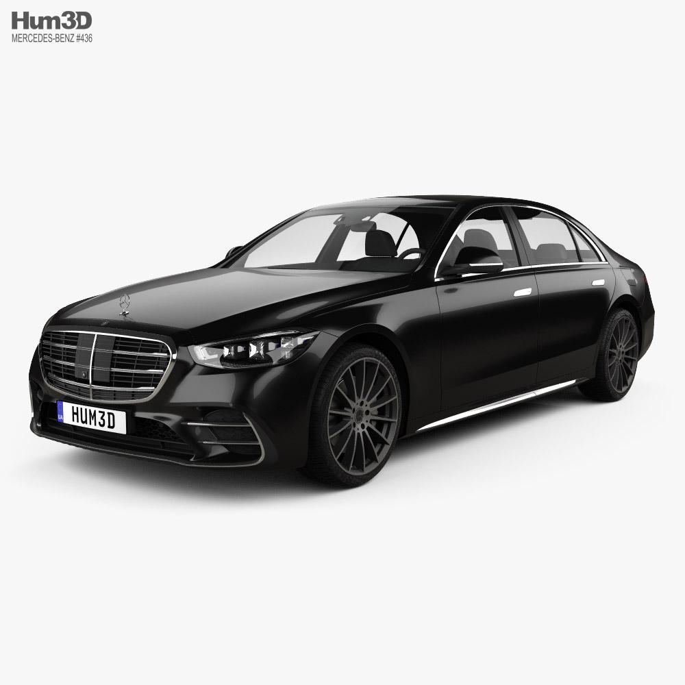 Mercedes-Benz S-Class (V223) e LWB AMG-Line 2021 3D model