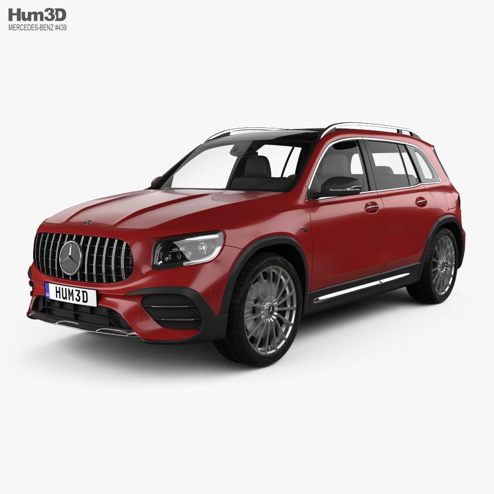 Mercedes-Benz GLB-class AMG 2019 3D model