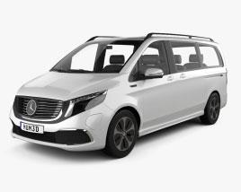 Mercedes-Benz EQV 2021 3D model