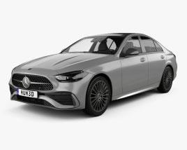 Mercedes-Benz C-class AMG-Line sedan 2021 3D model