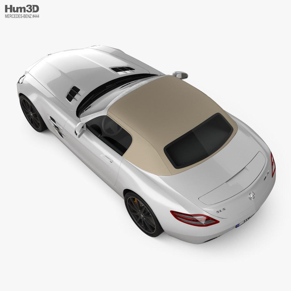 Mercedes-Benz SLS-class roadster 2011 3D model