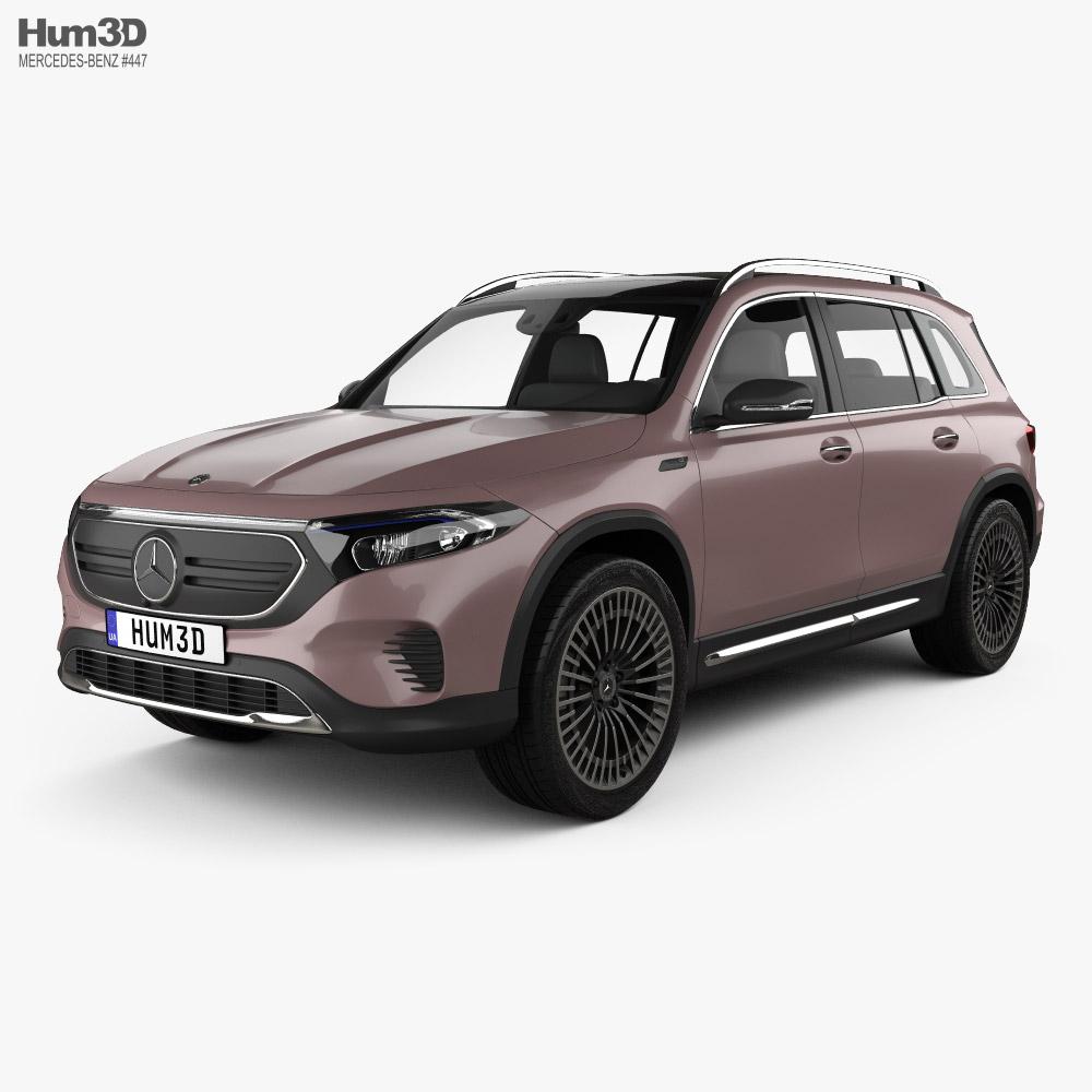 Mercedes-Benz EQB 2021 3D model
