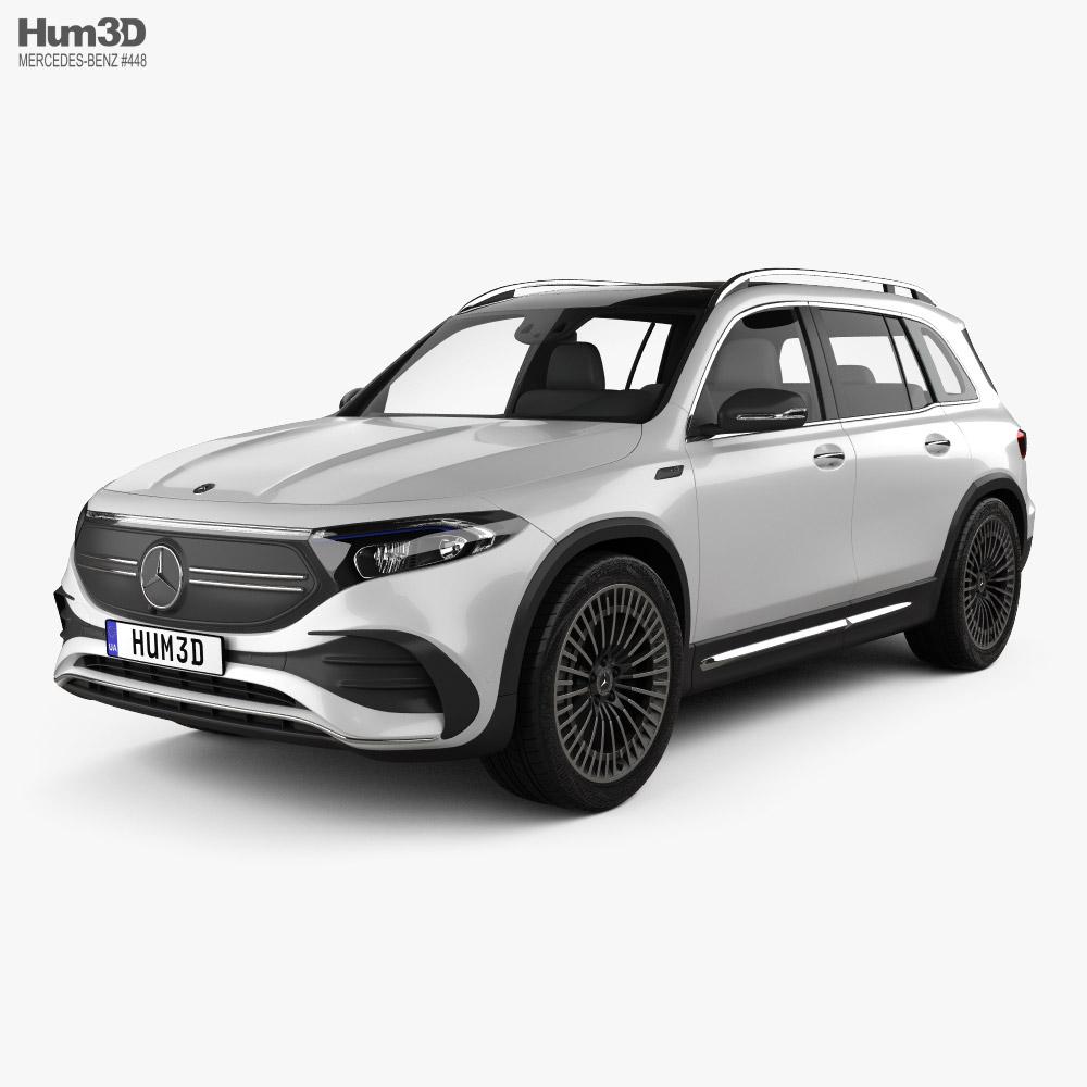Mercedes-Benz EQB AMG 2021 3D model